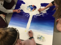 Painting with three